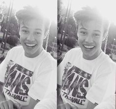 Cameron Dallas , His smile just light's up the room ✨