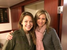 March 2, 2015: Supergirls Meet - Melissa Benoist Meets Helen Slater http://www.supermanhomepage.com/news.php?readmore=16153