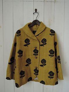 ミナペルホネン mina perhonen chum 刺繍ジャケット