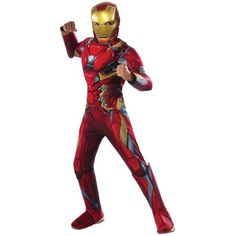 Ravishing Marvel's Captain America: Civil War Deluxe Iron Man Muscle Chest Costume For Kids. Beautiful Selection of Iron Man Costumes for Halloween at PartyBell. Costumes Avengers, Boy Costumes, Super Hero Costumes, Cosplay Costumes, Villain Costumes, Avengers Outfits, Movie Costumes, Costume Ideas, Superman