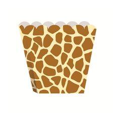 Giraffe Animal Print Treat Box