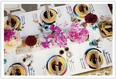 Fashion Inspiration to Celebration: DVF + Lounge Appeal Modern Glamour Beach Shoot- Alchemy Fine Events Wedding Table Settings, Wedding Reception Decorations, Place Settings, Event Planning, Wedding Planning, Jewel Tone Wedding, Nautical Wedding, Party Fashion, Wedding Events