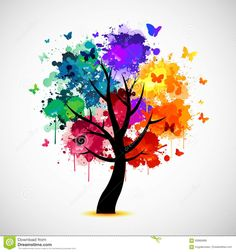 Find Multi Colored Paint Splat Abstract Tree stock images in HD and millions of other royalty-free stock photos, illustrations and vectors in the Shutterstock collection. Thousands of new, high-quality pictures added every day. Ink Painting, Acrylic Painting Canvas, Paint Splats, Colorful Trees, Tree Illustration, Crayon Art, Rainbow Art, Tree Art, Painting Inspiration