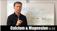 In this video, learn more about calcium and magnesium. Calcium and magnesium go beyond just bone and teeth function. https://www.youtube.com/watch?v=ApxLTx5M45I