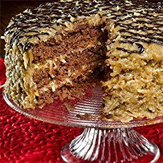 Vegan German Chocolate Cake Recipe (courtesy of Alice's Tea Cup) - This is one of my favorite afternoon tea places in NYC. Their desserts are AMAZING...