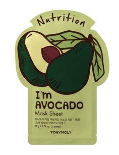 Avocado Mask, Water Type, Sheet Mask, Beauty Routines, Spring Break, Lotion, Moisturizer, Skin Care, Tired