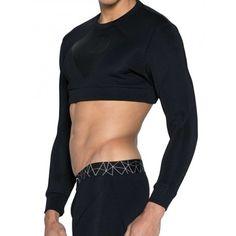Alpha Male Undies is an online underwear store offers underwear, swimwear and clothing for men with worldwide shipping. Mens Sweatshirts, Hoodies, Underwear Store, Sweater And Shorts, Aktiv, Gym Wear, Keep Warm, Workout Wear, Black Sweaters