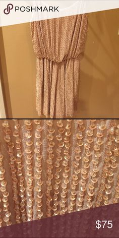 Alice and Olivia beaded romper Stunning Alive and Olivia beaded neutral-colored romper, size 0. Adjustable straps, cinched waist and zipper down the back for easy on/off. No tags, but has never been worn Alice + Olivia Other
