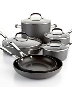 Calphalon Simply Nonstick Cookware, 10 Piece Set - Cookware - Kitchen - Macy's  #macysdreamfund