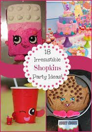 Image result for shopkins birthday party games