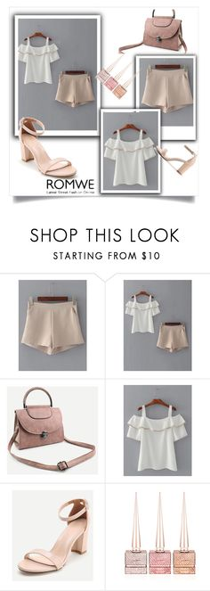 """ROMWE 4/10"" by velidafashion ❤ liked on Polyvore featuring WithChic and Christian Louboutin"