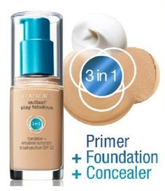 Covergirl Outlast Stay Fabulous 3-in-1 Foundation, You Choose! #CoverGirl