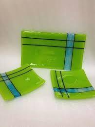Fused Gl Sushi Plates