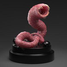 ArtStation - Ugly Worm - 3D sculpt, Tomasz Lechocinski
