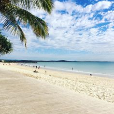 Noosa Main Beach yesterday morning, strolling the boardwalk.  www.tinystyle.com.au   #noosa #visitnoosa #sunshinecoast #tinystyle