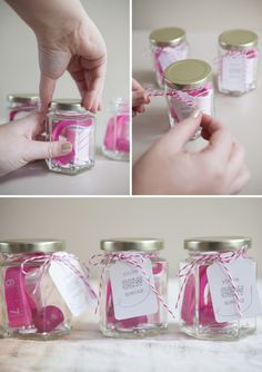These cute sewing kits are #sewjoann - created by @Jen Carreiro :)