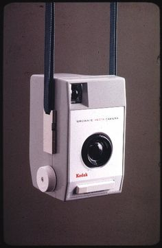 'Brownie Vecta' camera made by Kodak Ltd, 1963