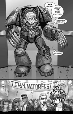 Terminator Party | Warhammer 40,000 | Know Your Meme