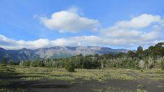 Wilde Landschaft am Lago Conguillío