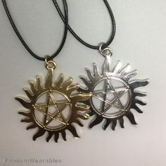 This pendant is the best (and least painful) way to keep demons and such from taking over your body…unless you want Crowley to pay you a visit. [$4.90]