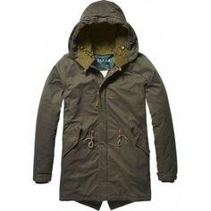 Discover the latest trends in fashion, clothing and accessories. Shop the best outfits for this season at our Official Scotch & Soda webstore. Mens Gloves, Scotch Soda, Military Jacket, Military Uniforms, Sportswear, Personal Style, Rain Jacket, Windbreaker, Menswear