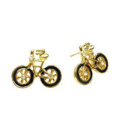 TdZ Classic Summer Bicycle Fashion Earrings