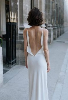 Slip dress by A La Robe photographed by Marilyn Bartman for Wild At Heart Bridal.