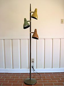 Tripod Floor Lamp by Gerald Thurston for Lightolier | Modern ...