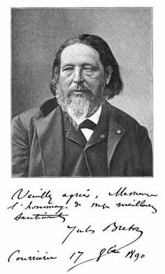 In 1886, Jules Breton was elected a member of the Institut de France on the death of Baudry. In 1889: made commander of the Legion of Honor,  in 1899: foreign member of the Royal Academy of London. He also wrote several books, and was a recognized writer who published a volume of poems (Jeanne) and several editions of prose; among them Les Champs et la mer (1876), Nos peintres du siècle (1900), Delphine Bernard (1902), and La Peinture (1904). Breton died in Paris on 5 July 1906.