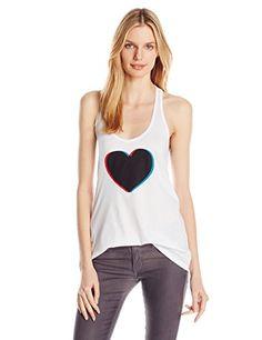 REBECCA MINKOFF Rebecca Minkoff Women'S Heart Tank Top. #rebeccaminkoff #cloth #