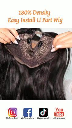 Short Quick Weave Hairstyles, Twist Braid Hairstyles, Twist Braids, U Part Wig, Wigs, Hair Styles, Easy, Hair, Hair Plait Styles