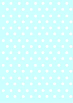 polka dots papers pastel blue