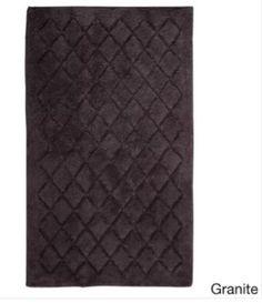 Stylish Modern Granite Cotton Bath Rug Non-Slip Latex Backing 27 x 45 Inches #BathRug #StylishRug #CottonRug #BathMat #SoftMat #DoorMat #Mat #Rug #SkidResistant #NonSlip #Home #Kitchen #Bathroom #Bath