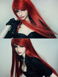 Beautiful Doll Sculpture  08122012 by devolvedarling, via Flickr