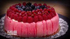 » M6 le Meilleur Pâtissier Charlotte aux fruits rouges la recette de l'émission - La cuisine de Mercotte :: Macarons, Verrines, … et chocolat