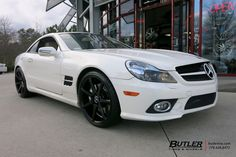 Mercedes SL550 with 20in Savini BM10 Wheels by #butlertire