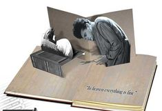 POP-UP book.