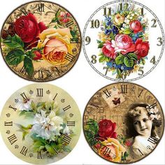 4 styles Mosaic Lily clock The new style highend DIY Diamond Painting Stab cross-stitch embroidery painting sewing diamonds yw8 #Affiliate