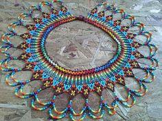 Seed Bead Jewelry, Seed Bead Earrings, Beaded Jewelry, Handmade Jewelry, Seed Beads, Beaded Collar, Beaded Choker, Beaded Earrings, Beading Tutorials