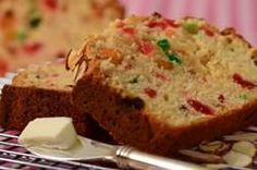 This delicious Light Fruit Cake is an almond scented butter cake full of candied fruits and raisins. From Joyofbaking.com With Demo Video