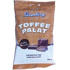 Brunberg Toffeepalat 200g Snack Recipes, Snacks, Toffee, Chips, Candy, Drinks, Food, Eggs, Snack Mix Recipes