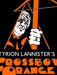 Crossbow Orange T-Shirt - http://teecraze.com/crossbow-orange-t-shirt/ -  Designed by karlangas    #tshirt #tee #art #fashion #clothing #apparel