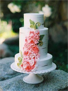 Tangled Inspired Wedding Cake