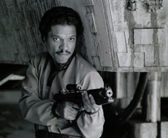 Lando Calrissian from Star Wars Episode V The Empire Strikes Back Harrison Ford, Billy Dee Williams, Star Wars Episoden, Lando Calrissian, War Film, Original Trilogy, Star War 3, The Empire Strikes Back, The Force Is Strong