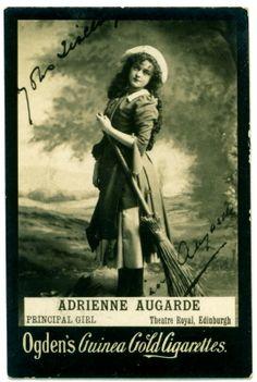 Adrienne Augarde | Cigarette Card - Actress, Adrienne Augarde