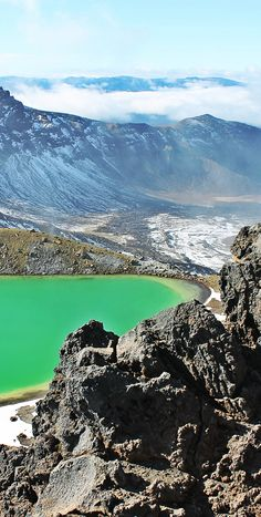 Tongariro Alpine Crossing - North, Island, NZ > that's what I did and I'm proud of it!