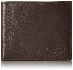 Bill Adler Men's Billfold, Brown, One Size ** Click on the image for additional details.