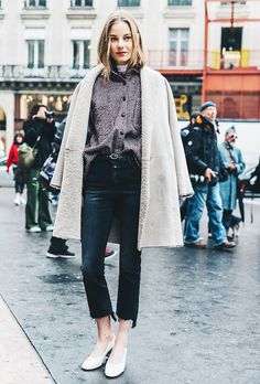 What Your Shirt Tuck Says About You via @WhoWhatWear