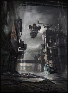 ArtStation - Station, by Kait KybarMore concept art here.