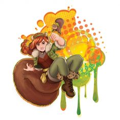 Marvel Rising: Secret Warriors Squirrel Girl and Tippy Toe picture Marvel Comic Character, Marvel Characters, Disney Characters, Squirrel Girl Marvel, Unbeatable Squirrel Girl, Marvel Dc Comics, Marvel Jokes, Marvel Art, Secret Warriors
